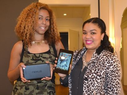 Hair Blow Own With The Dry Bar + #Nexus7