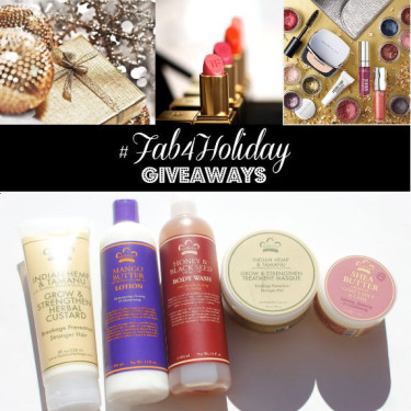 Day 18: Win Nubian Heritage Beauty Packs (8 Winners)
