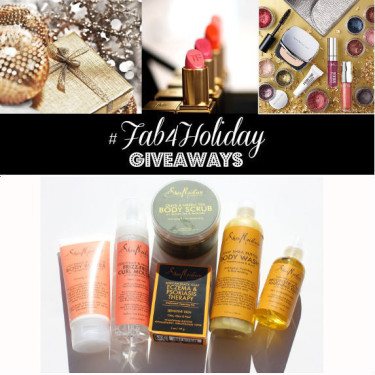 Day 19: Shea Moisture Hair & Body Giveaway (8 winners)