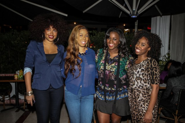 Taren Guy - Alexis Felder - Danielle Gray - Jessica Andrews at the Ultimate Beauty Getaway Welcome Reception at Serafina Miami 1.23