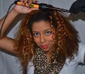 Curling Wand To Spruce Up Curls