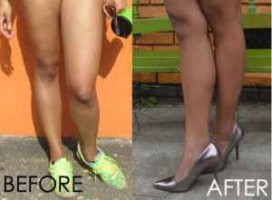 Pale No More, How I Achieved Tan Legs In A Month