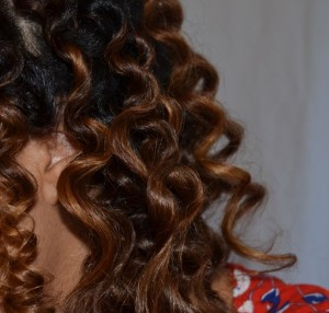 Dry Bantu Knot Out With OBIA Natural Haircare