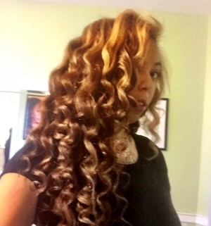 ONYC Fro-Out Curling Wand Review/Tutorial