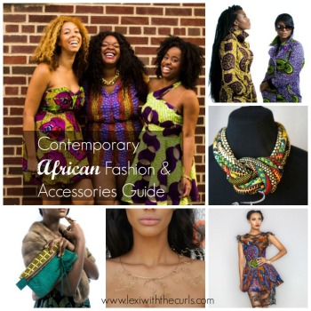 Contemporary African Fashion & Accessories Guide!