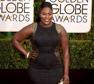 Glam At The Golden Globes: Danielle Brooks From 'OITNB'