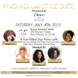 You're Invited: #NOLACrawl Style Suite