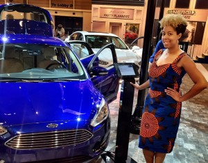 Video: Hanging Out With Ford At The Essence Fest