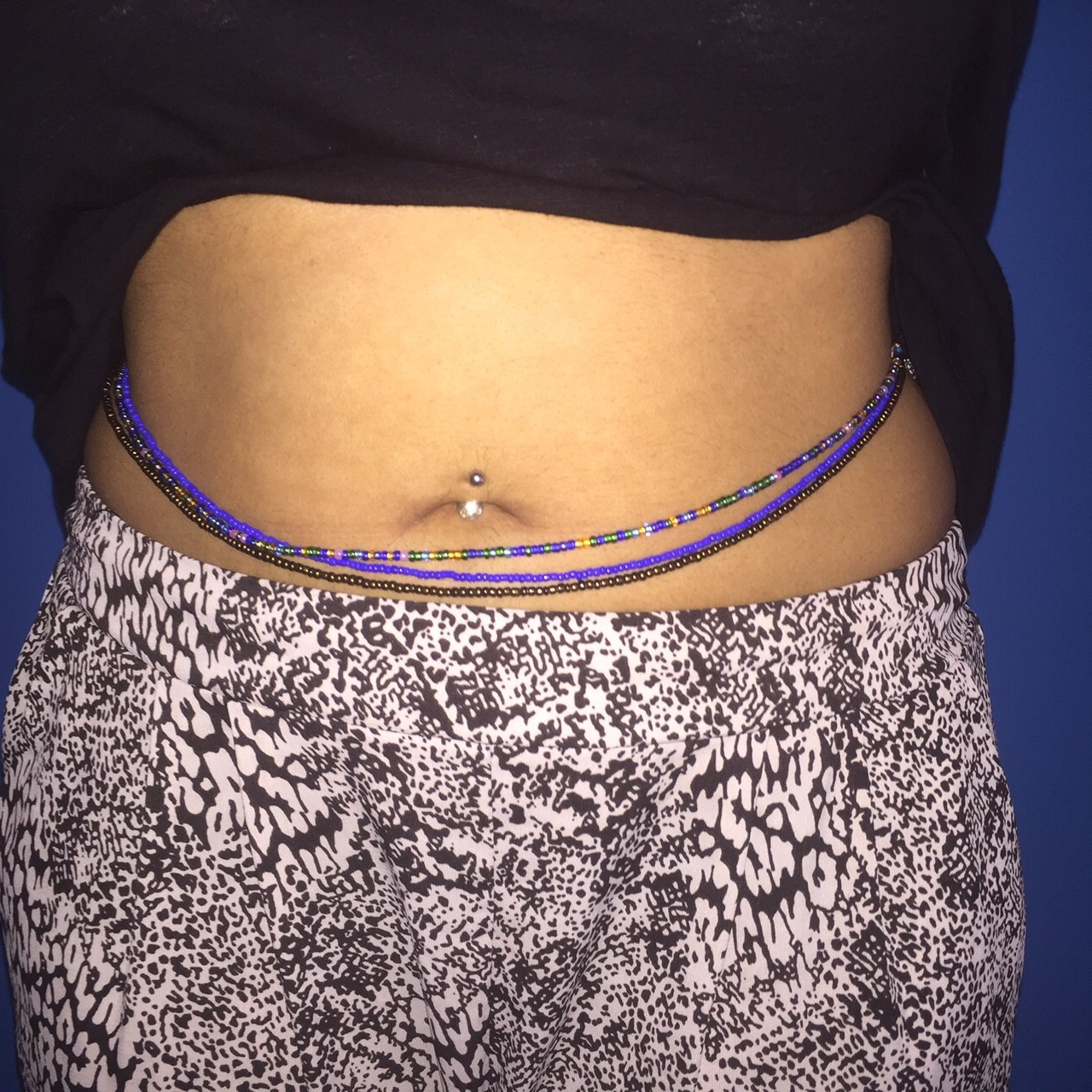 African Waist Beads For Body Shaping Lexiwiththecurls
