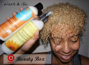 Wash & Go Using The Target Beauty Box – Jane Carter Solution & Curls