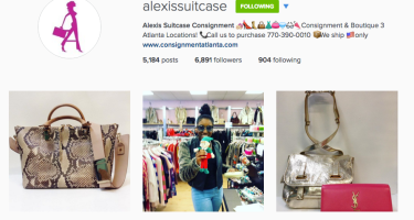Consignment Shopping/Selling: Alexis Suitcase in ATL