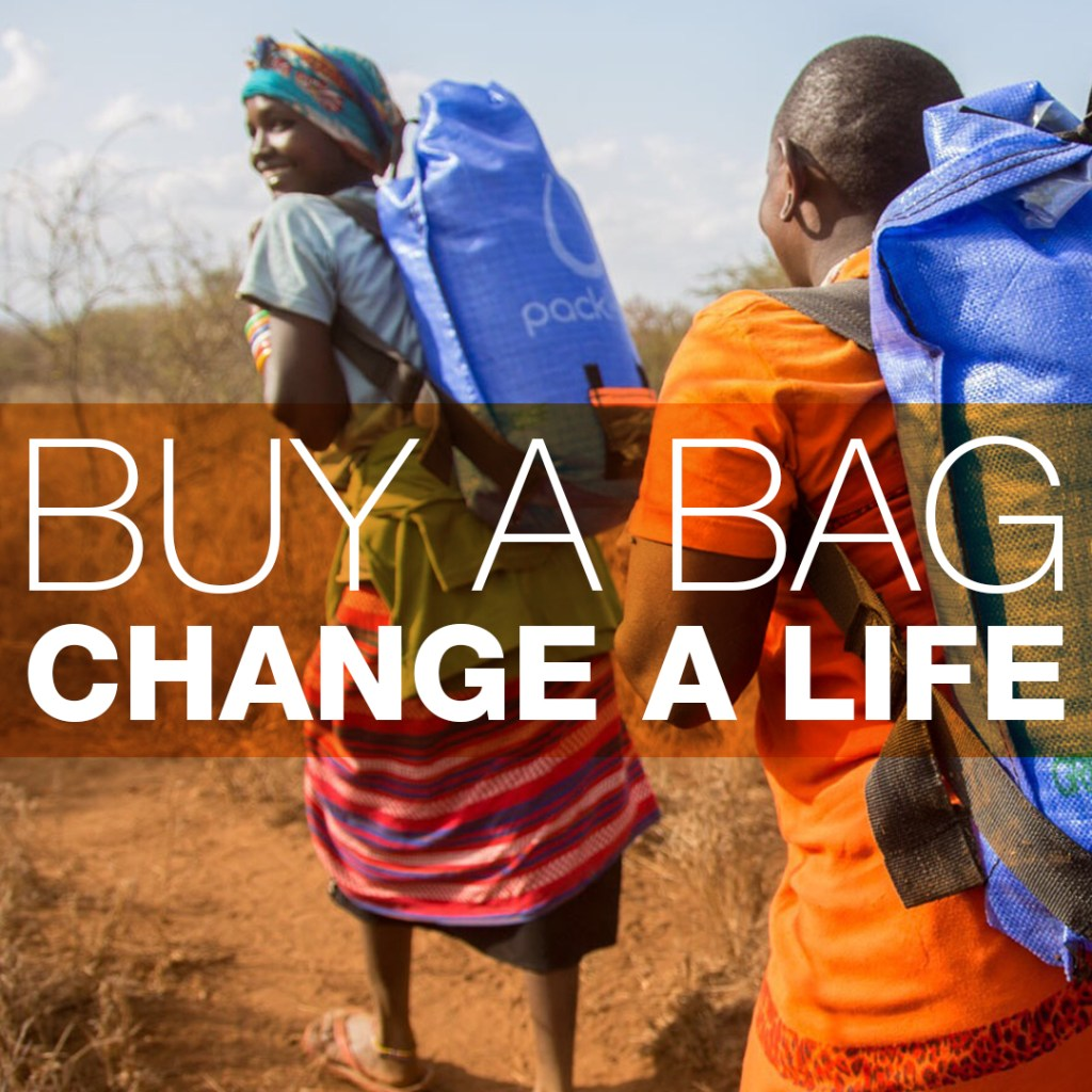 Buy A Travel Bag, Change A Life With @EagleCreekGear & @PackH20
