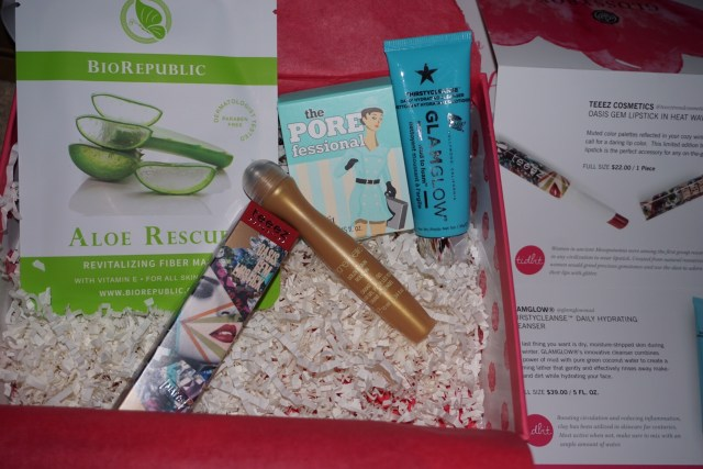 February Glossybox Review: Lips, Eyes, & Skin