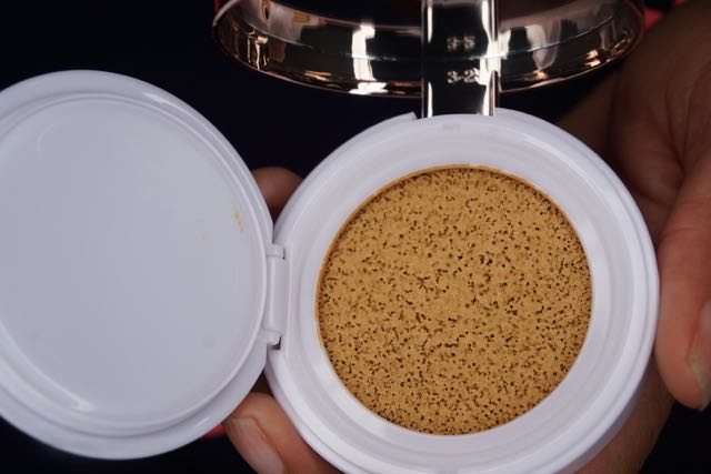 l'oreal lumi w5.5 suntan cushion foundation swatch review