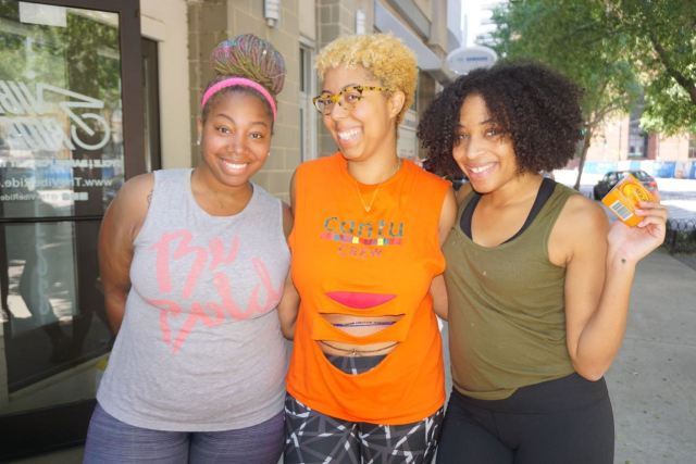 #CurlyAndFit Takes The Vibe Ride! Next Class 5/21 Sponsored by @CantuBeauty