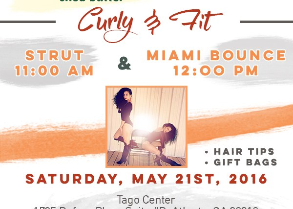 Join Us For #CurlyAndFit With @HalfieTruths & @CantuBeauty