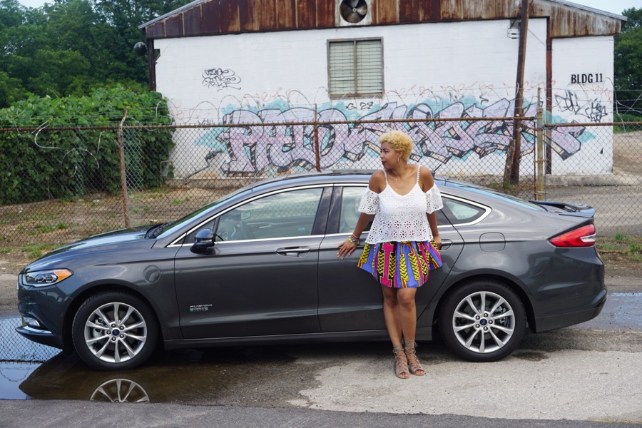 I'm On The #RoadToEssence With The New @Ford Fusion
