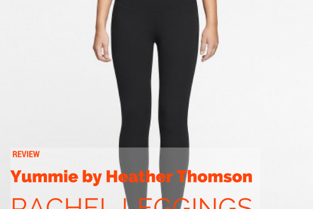 Review: High-Waisted Shaping Rachel Leggings From Yummie