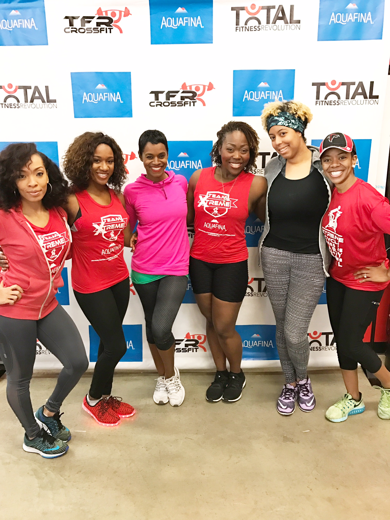 Curly & Fit: TFR Xtreme Cycle Launch Feat. Angela Simmons