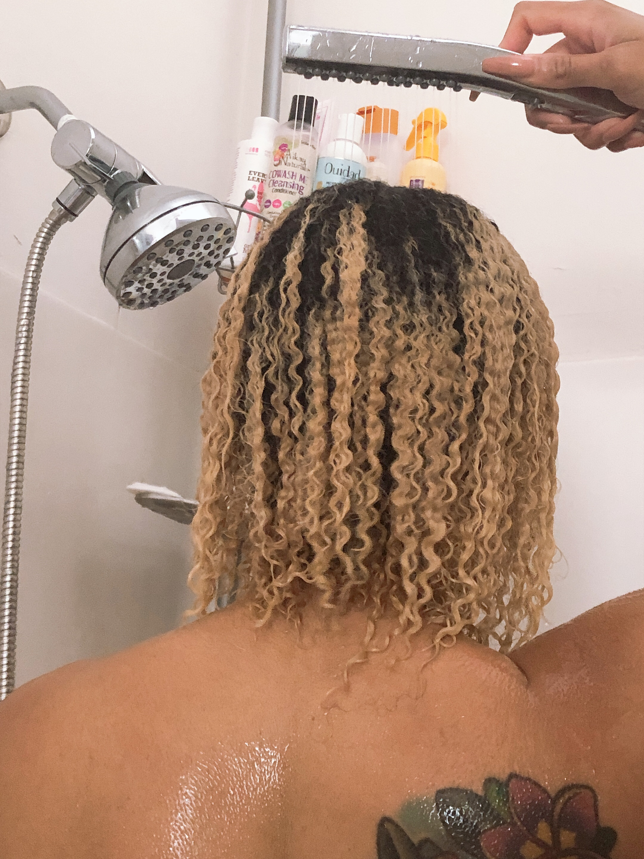 Easy Hair Washing With The @WaterpikShowers