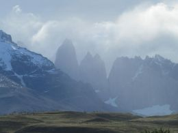 The torres, Torres del Paine National Park, Chile