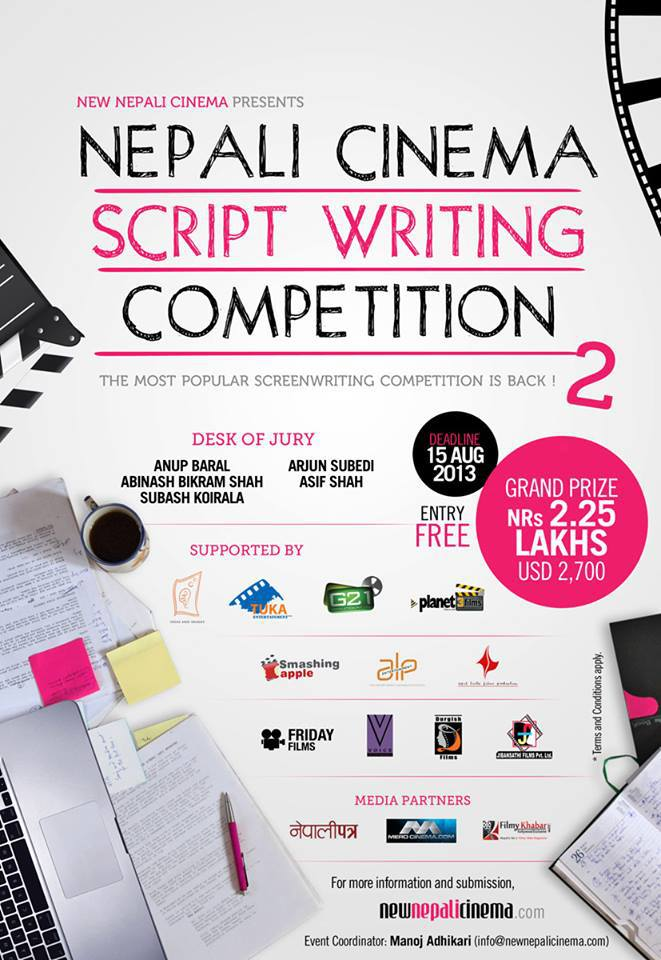 Nepali Cinema Scriptwriting Competition   Lexlimbu