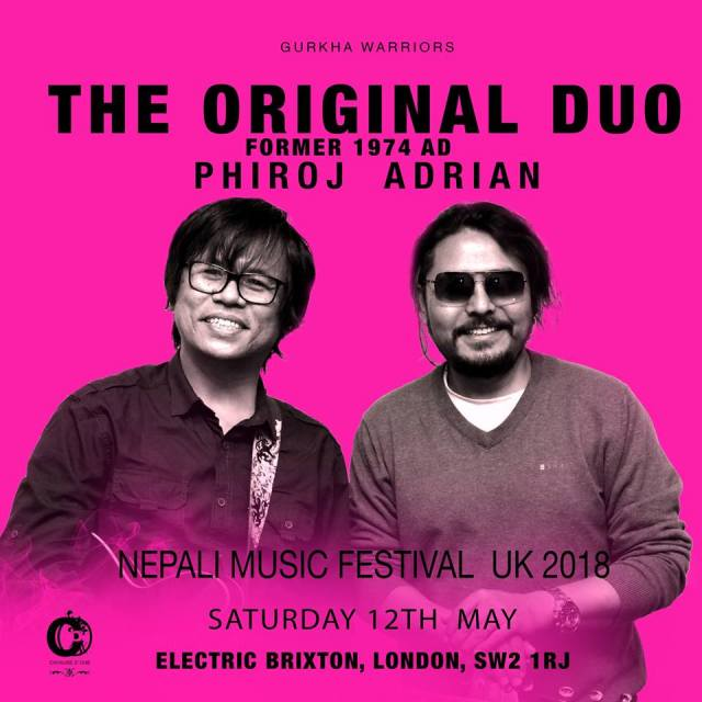 WIN Tickets And Meet The Singers At NEPALI MUSIC FESTIVAL UK