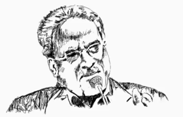 Prachanda Sketch Ranajay Gurung