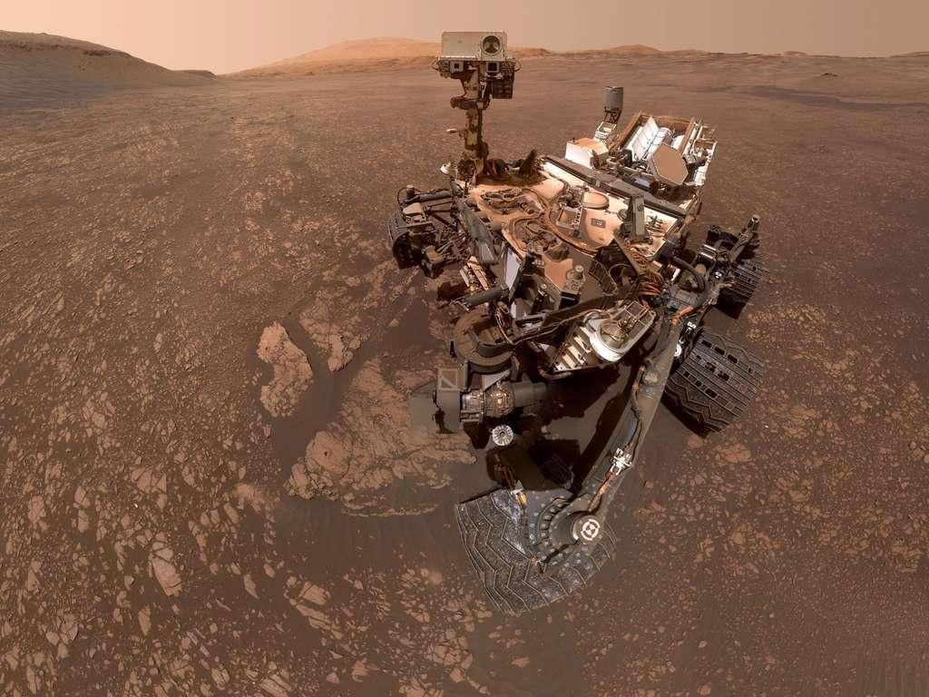 Sonda Rover Curiosity Selfie   Lexotani