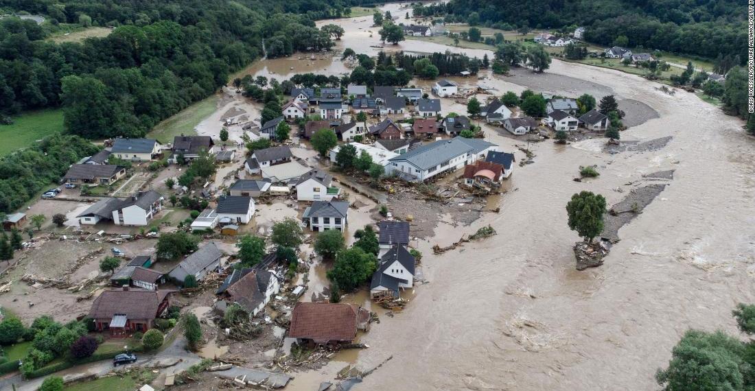 Germany Flood | Lexotani