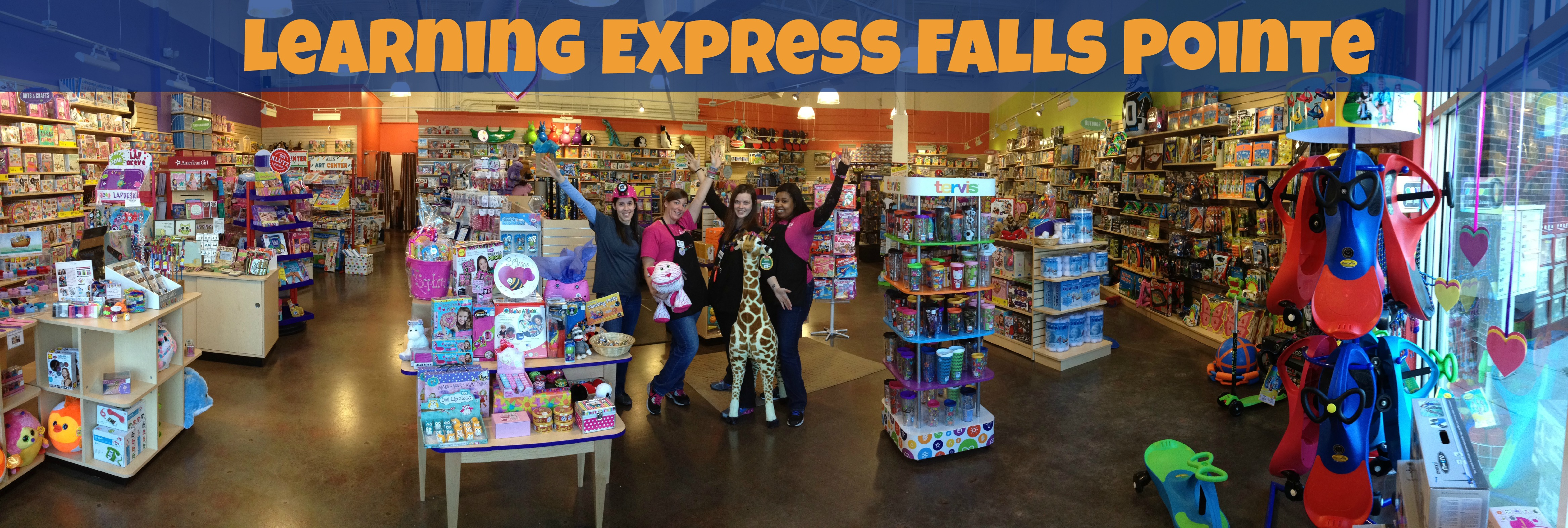 Welcome Learning Express Falls Pointe! ? Learning Express Gifts- Brands included PopSocket, Star ...
