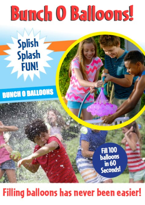 Water Balloons Learning Express