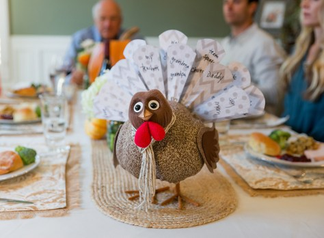 Turkey on the Table Learning Express