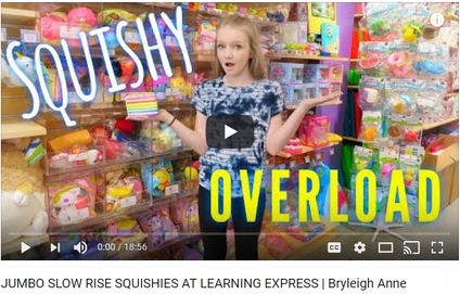 Watch this youtube video about squishies