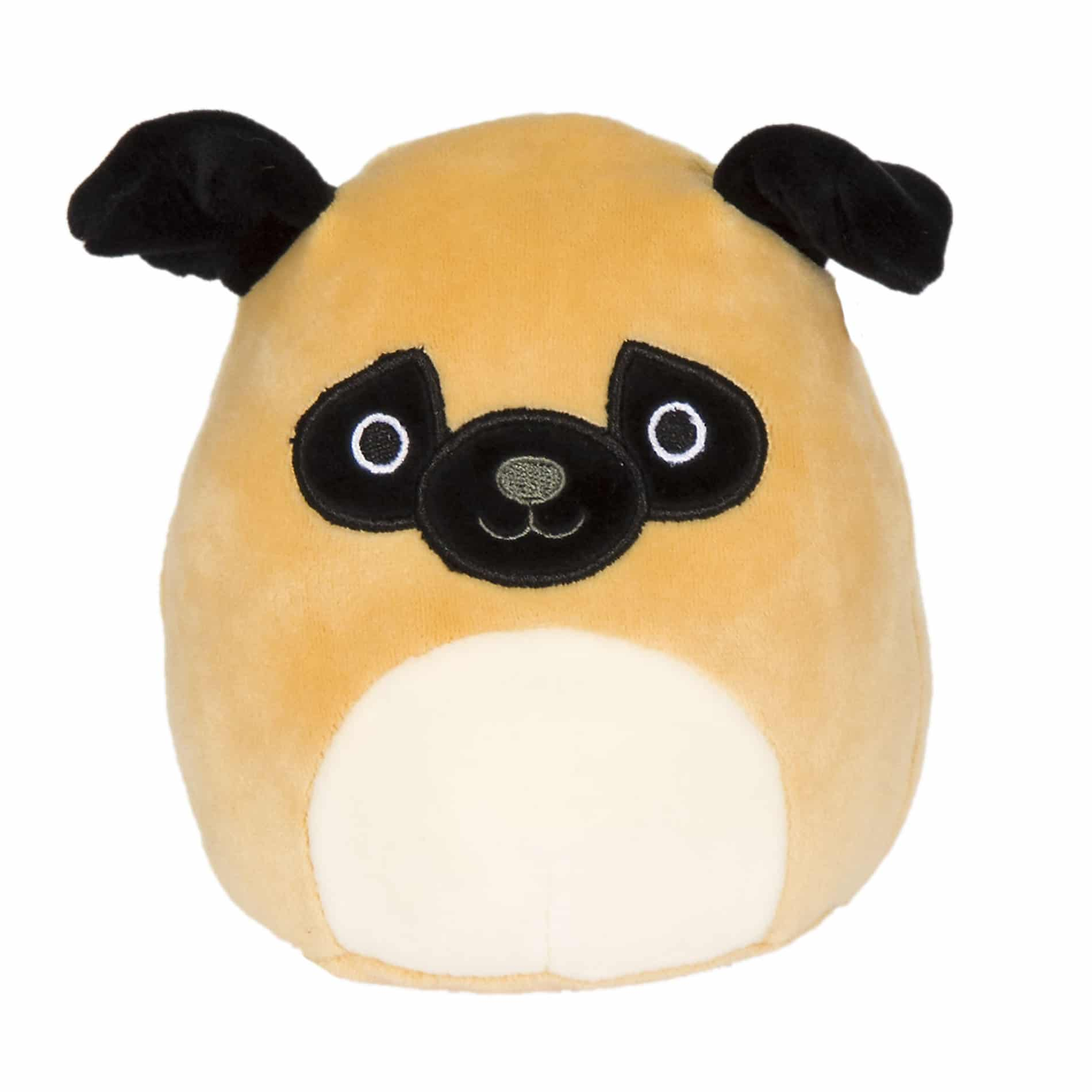 Squishmallows.BrownPug.Prince