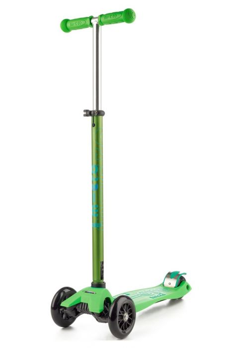 Green Maxi Deluxe Microscooter, shop now