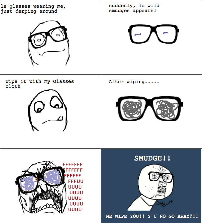 16 reasons why wearing glasses suck (3/6)