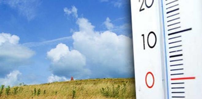 طقس الاثنين: انخفاض نسبي في درجات الحرارة