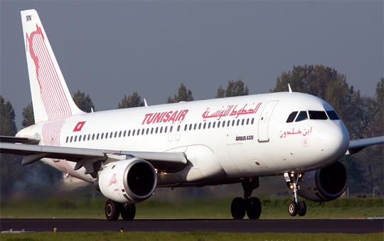 الخطوط التونسية تبرمج اربع رحلات الى القاهرة لنقل مشجعي المنتخب التونسي لكرة القدم