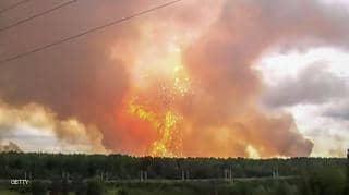 روسيا تأمر بإخلاء قرية من السكان بسبب الإنفجار النووي