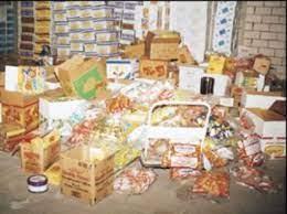 حجز 17 طنا من المواد الغذائية الفاسدة وإقتراح غلق 37 محلا خلال حملة مراقبة صحية