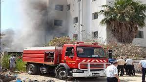 صفاقس: اندلاع حريق في محيط إدارة الشركة الجهوية للنقل