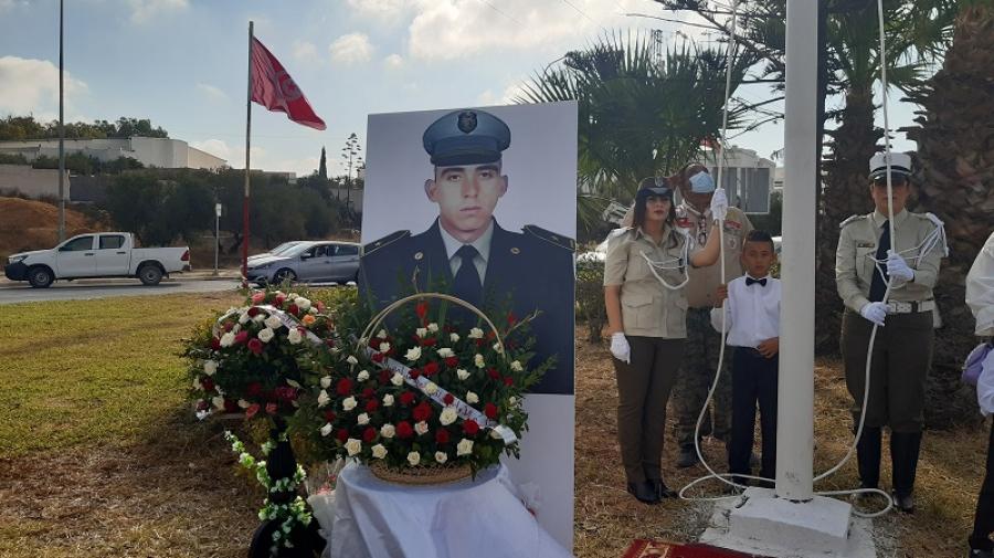 الذكرى الأولى لاستشهاد الملازم سامي مرابط في عملية أكودة الارهابية