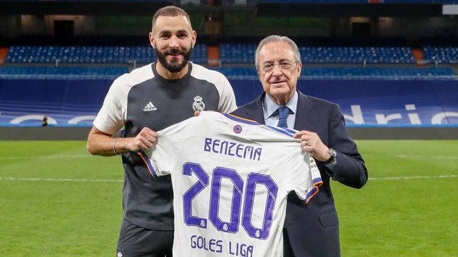 ريال مدريد: بنزيمه يبلغ الـ200 هدف في الليغا