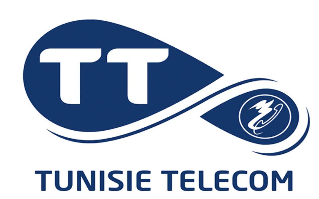 أعضاء الهيئة الإدارية القطاعية لمجمع اتصالات تونس في اعتصام