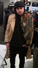kyle dream. He disigned a jacket that chris brown was wearing.