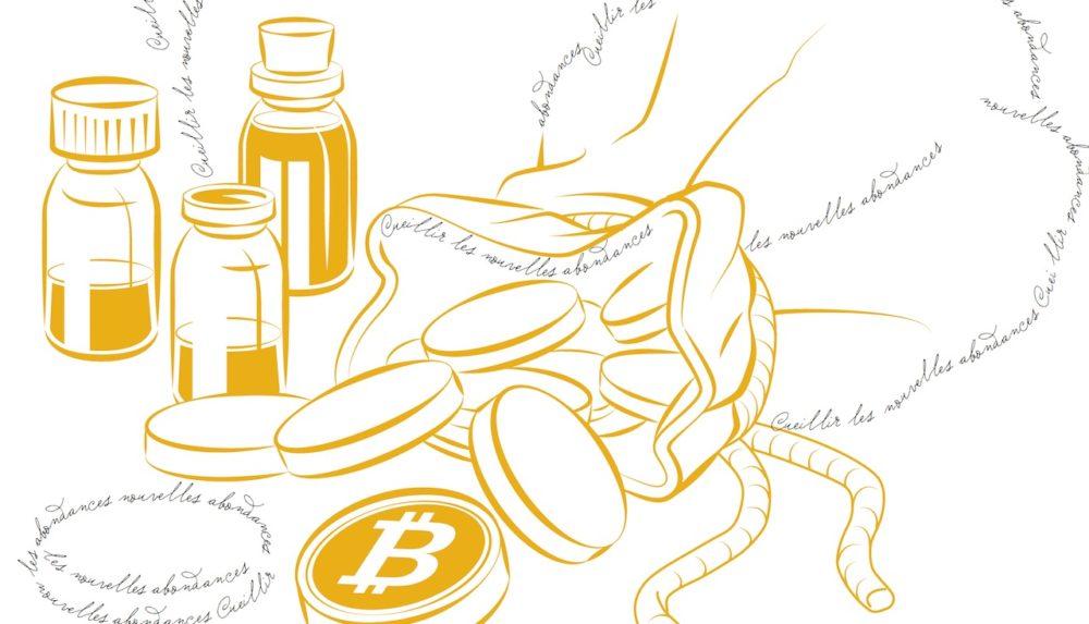 """Partenariat MIND / La fièvre jaune :  de l'or, du miel, du """"sang jaune"""", des robots et du Bitcoin !"""