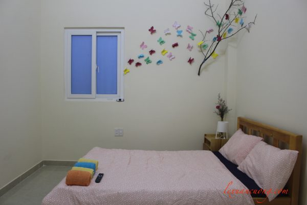 Couple double room at 4 quarters Homestay Dalat