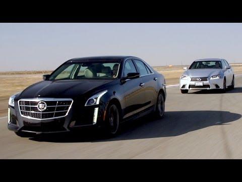 2014 Cadillac CTS Vsport vs 2013 Lexus GS350 F Sport! – Head 2 Head Ep. 45