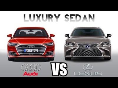 AUDI A8 vs LEXUS LS – Which luxury sedan is better?
